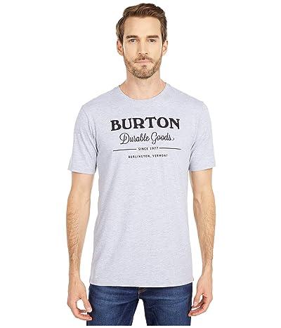 Burton Durable Goods Short Sleeve Tee (Gray Heather) Clothing