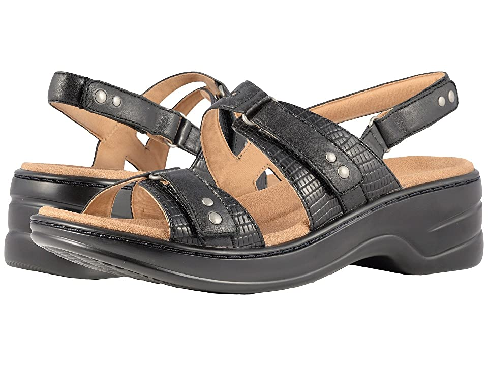 Trotters Newton (Black Man Made/Soft Leather) Women