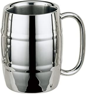 Stainless Steel Mug,Barrel Mug, Coffee Mug, Beer Mug, 16oz. (1)