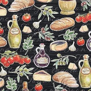 Windham Fabrics Bella Toscana at The Tuscan Table Nero