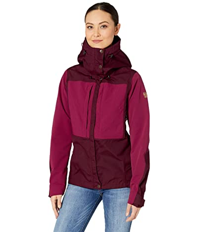 Fjallraven Keb Jacket (Dark Garnet/Plum) Women