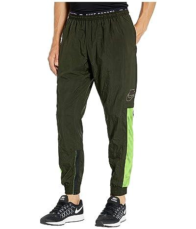 Nike Flex Pants (Sequoia/Black/Electric Green/Pale Ivory) Men