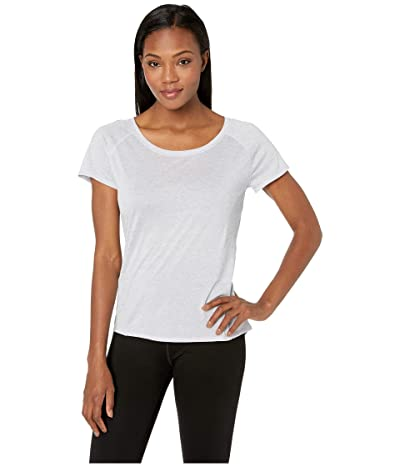 Prana Iselle Short Sleeve Tee (Silver Heather) Women