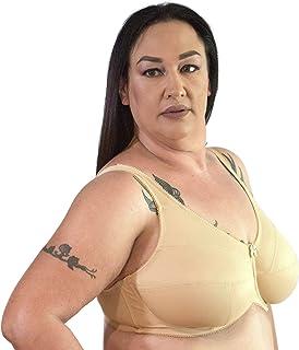 BraGirl Women's Leyla Full Busted Unlined Underwire Bra - Large Plus Big Bust Support Lift Heavy Duty
