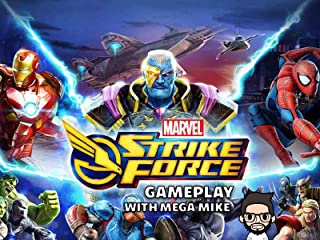 Marvel Strike Force Gameplay With Mega Mike