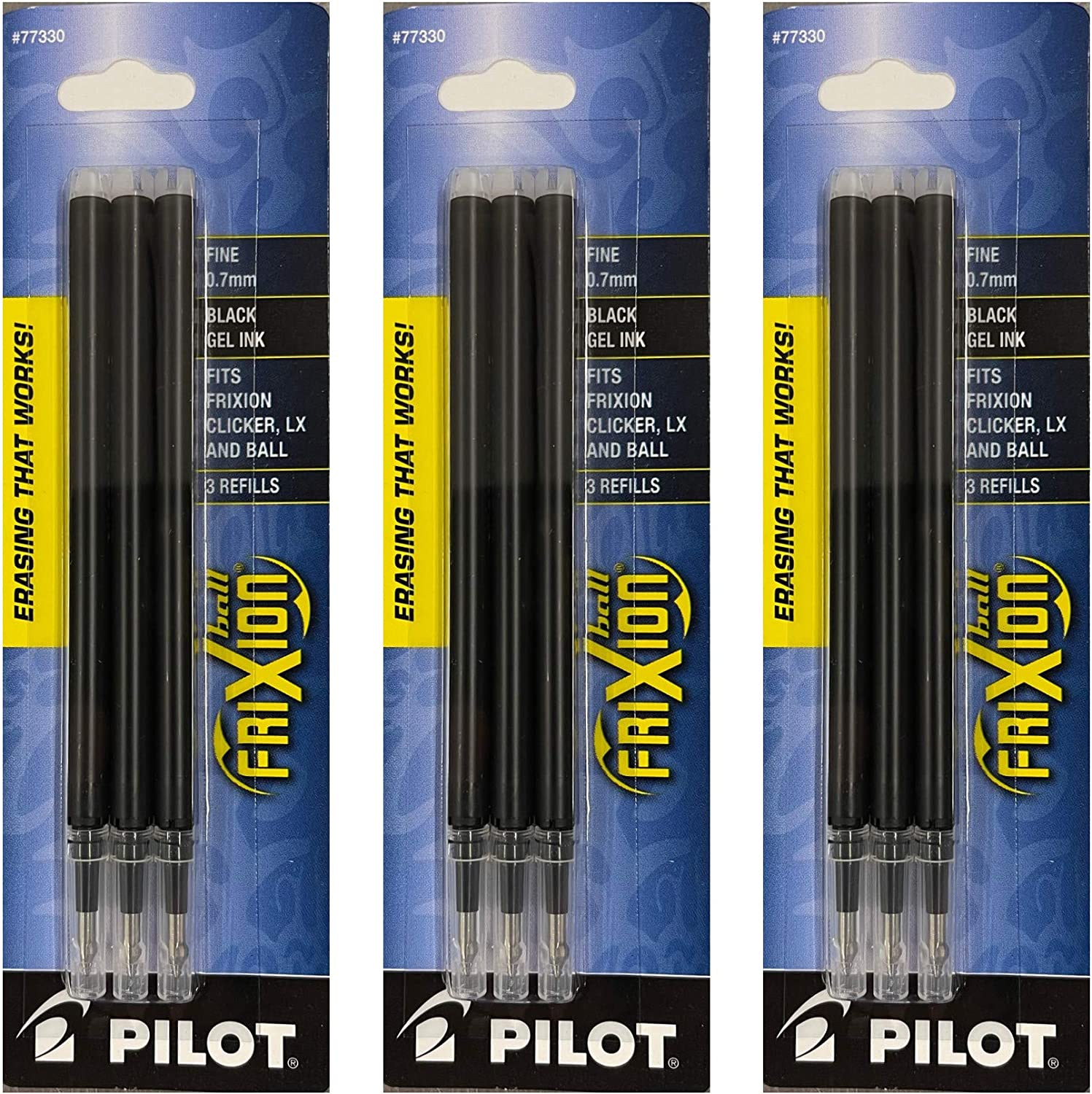 PIL77330 - trend rank Pilot FriXion Pen Ink Gel Refills Limited Special Price