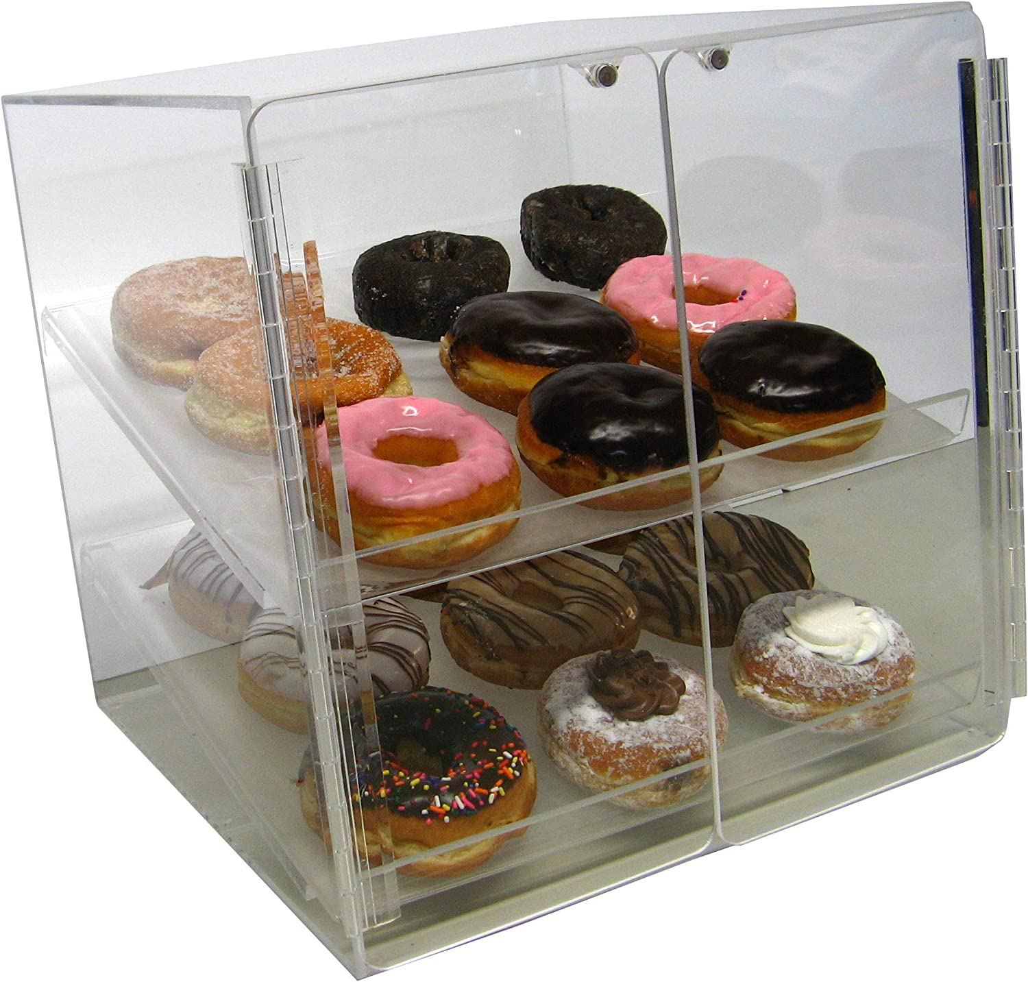 Self Serve Pastry New Orleans Mall or Donut Display Case 5 ☆ very popular 2 Deli for Bakery Trays