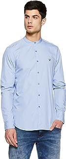 Allen Solly Men's Solid Slim Fit Casual Shirt
