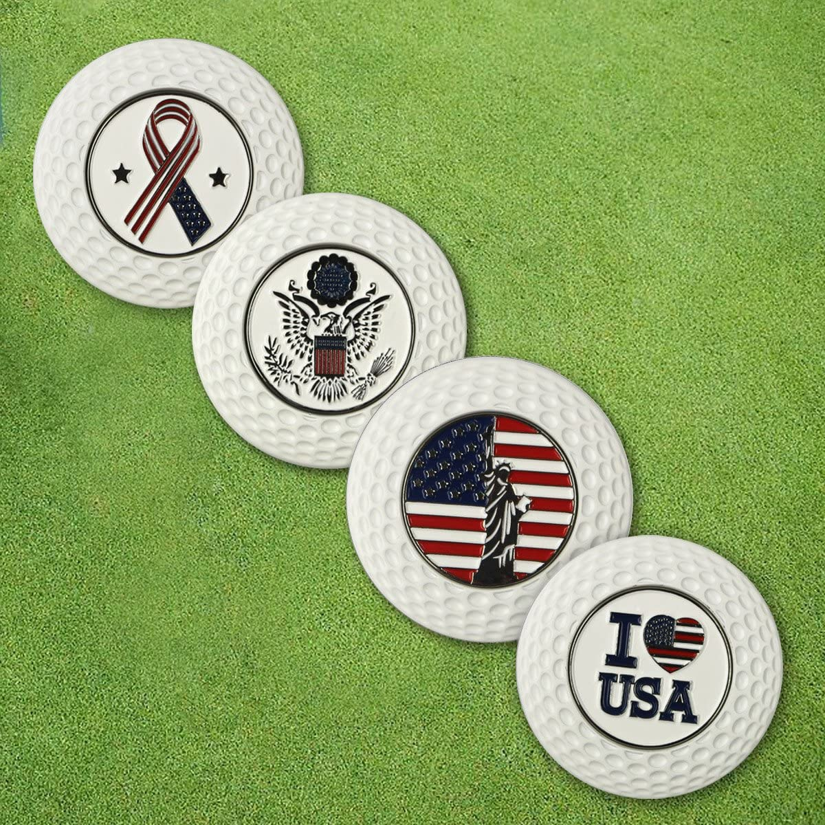 PINMEI Metal Magnetic Golf Poker Chip Online limited product Ball Markers Indefinitely Gif