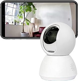 トリゴ(TOLIGO) 見守りカメラ TLG-CA01(WH) 自動追跡 マイク内蔵 ベビーカメラ ペットカメラ 防犯カメラ Wi-Fi WEBカメラ MicroSDカードで録画可能 355°首振り