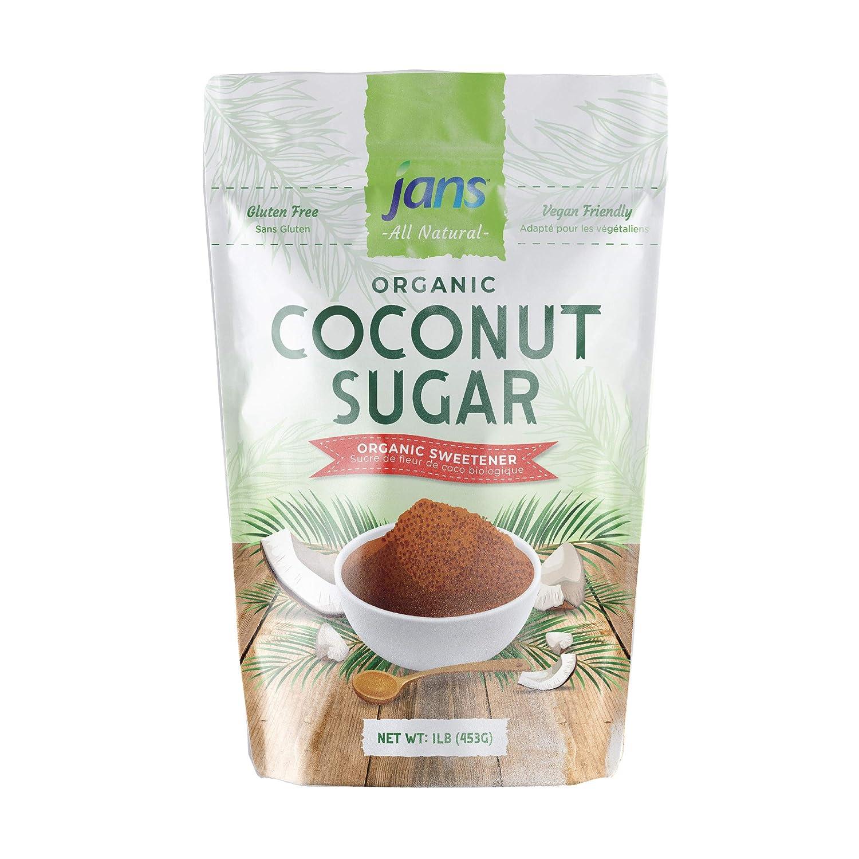 Superior Jans All Natural Organic Coconut Sugar Cer Max 57% OFF Gluten-Free 16 oz