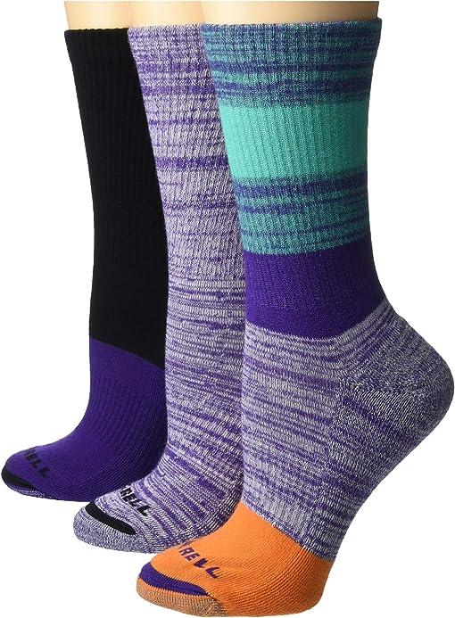 Purple/Green/Grey/Black/Purple/Purple