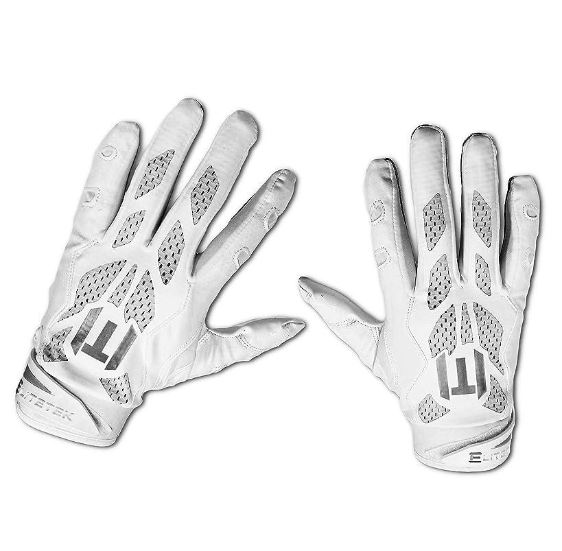 EliteTek E-17 Football Gloves Youth & Adult
