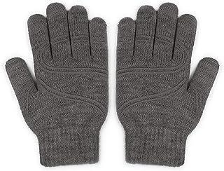 "Moshi Digits Winter Gloves Touchscreen, Slip-Free Grip Warm Knit Gloves 3 Size for Women Men, Size S: 15-17cm/5.9""-6.7""/Size M: 17-19cm/6.7""-7.5""/Size L: 19-20.5cm/7.1""-8.1"""