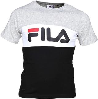 Fila Lateral Logo T-Shirt Nera da Bambino 687667-002
