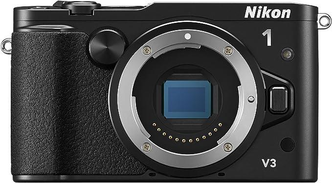 Nikon 1 V3 Systemkamera 3 Zoll Nur Gehäuse Schwarz Kamera