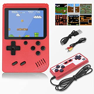 YUZ Handheld Game Console Retro Mini Game with 500 Classic Games Console Handheld Games 3.0-Inch Color Screen 1020mAh Rech...