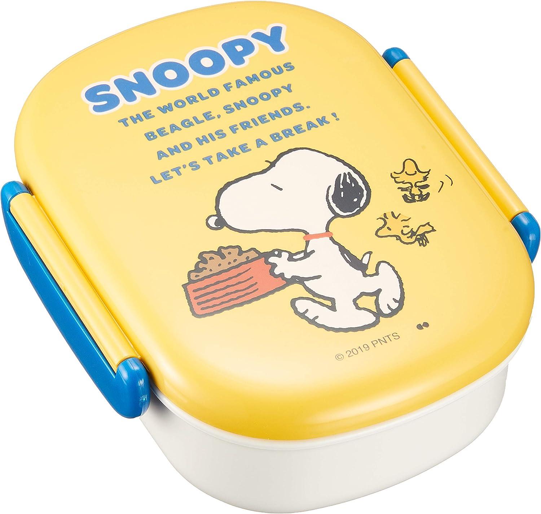 Peanuts New sales Snoopy Lunch Food Container Box San Antonio Mall Series Break 360ml