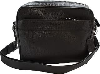Best coach black leather messenger bag Reviews