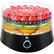 New House Kitchen Compact... New House Kitchen Compact Multi-Tier Dehydrator with 5 BPA Free Round Stackable Transparent Trays...