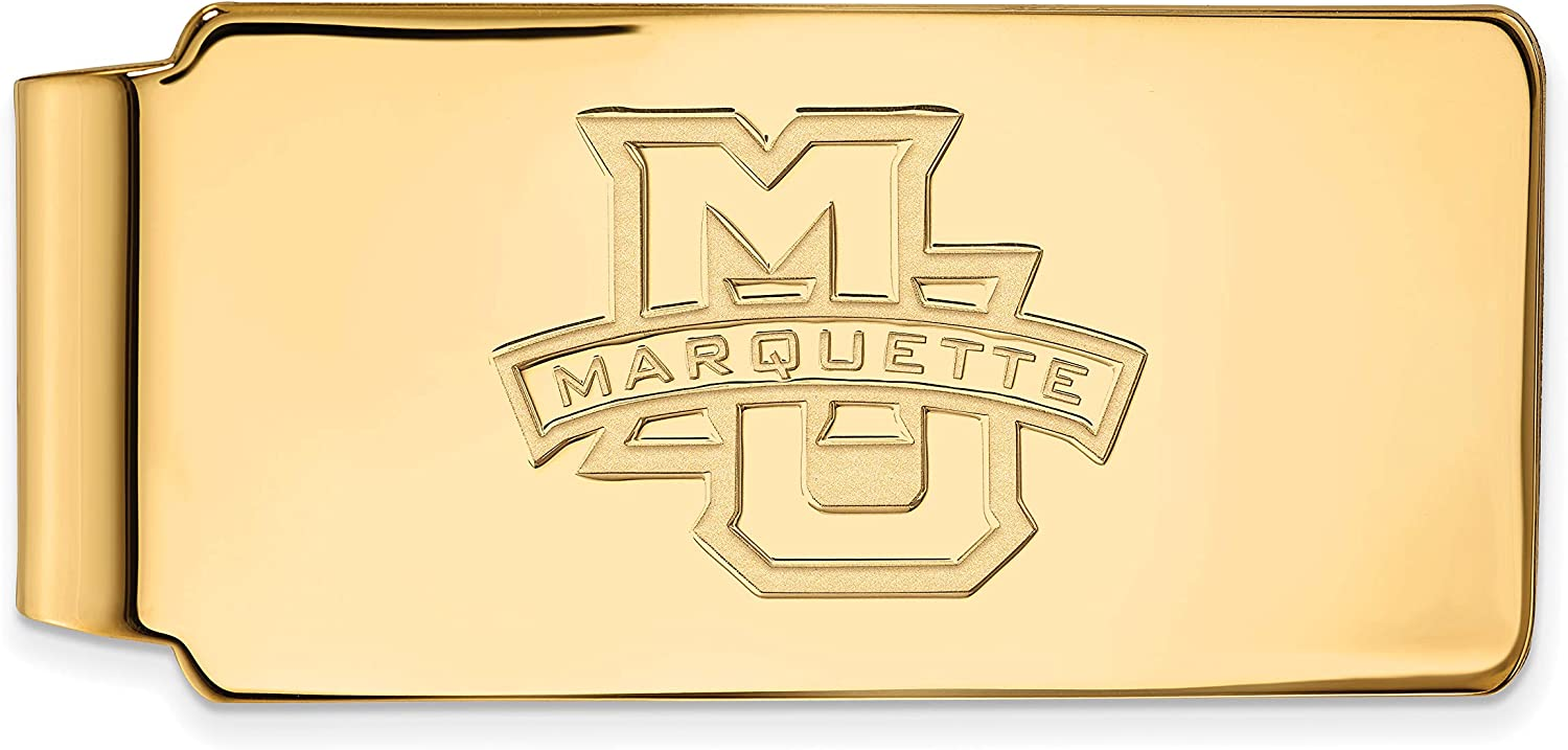 14k Max 60% OFF Yellow Gold Marquette excellence University Golden School Letter Eagles