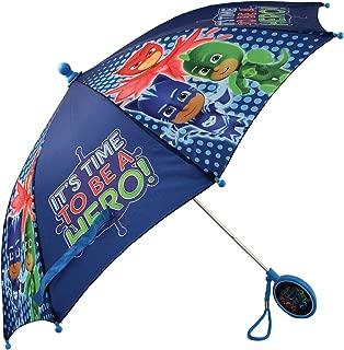 PJ Masks Little Boys' Character Rainwear Umbrella, Dark Blue Age 3-7