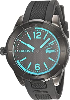 Lacoste Reloj de Moda Hombre, color Negro, 47 mm