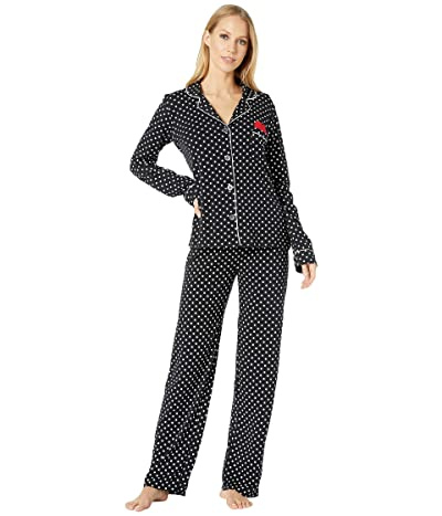 P.J. Salvage Stand Up To Cancer Sleep Set (Black) Women