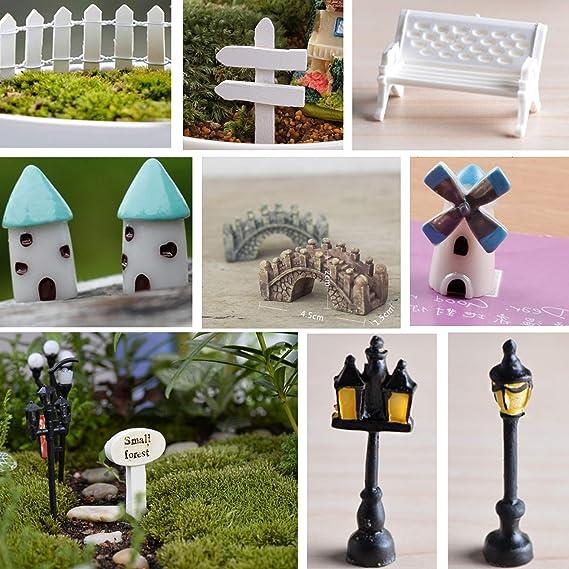 Garden Miniatures Patio, Lawn & Garden BONYOUN Multi-Color Small ...