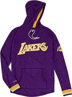 Mitchell & Ness Los Angeles Lakers NBA Leader Lightweight Hooded Sweatshirt