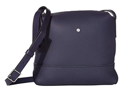 ECCO Jilin Tandem Small Crossbody (Night Sky/Titanium Metallic) Cross Body Handbags