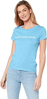 Calvin Klein Jeans Women's Institutional Logo Slim Fit T Shirt