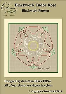 tudor rose embroidery