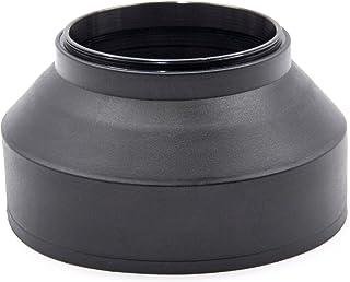 vhbw Gegenlichtblende passend für Tamron 18 200 mm 3.5 6.3 Di II VC, 18 200 mm 3.5 6.3 Di III VC Kamera Objektiv Gummi 62mm schwarz