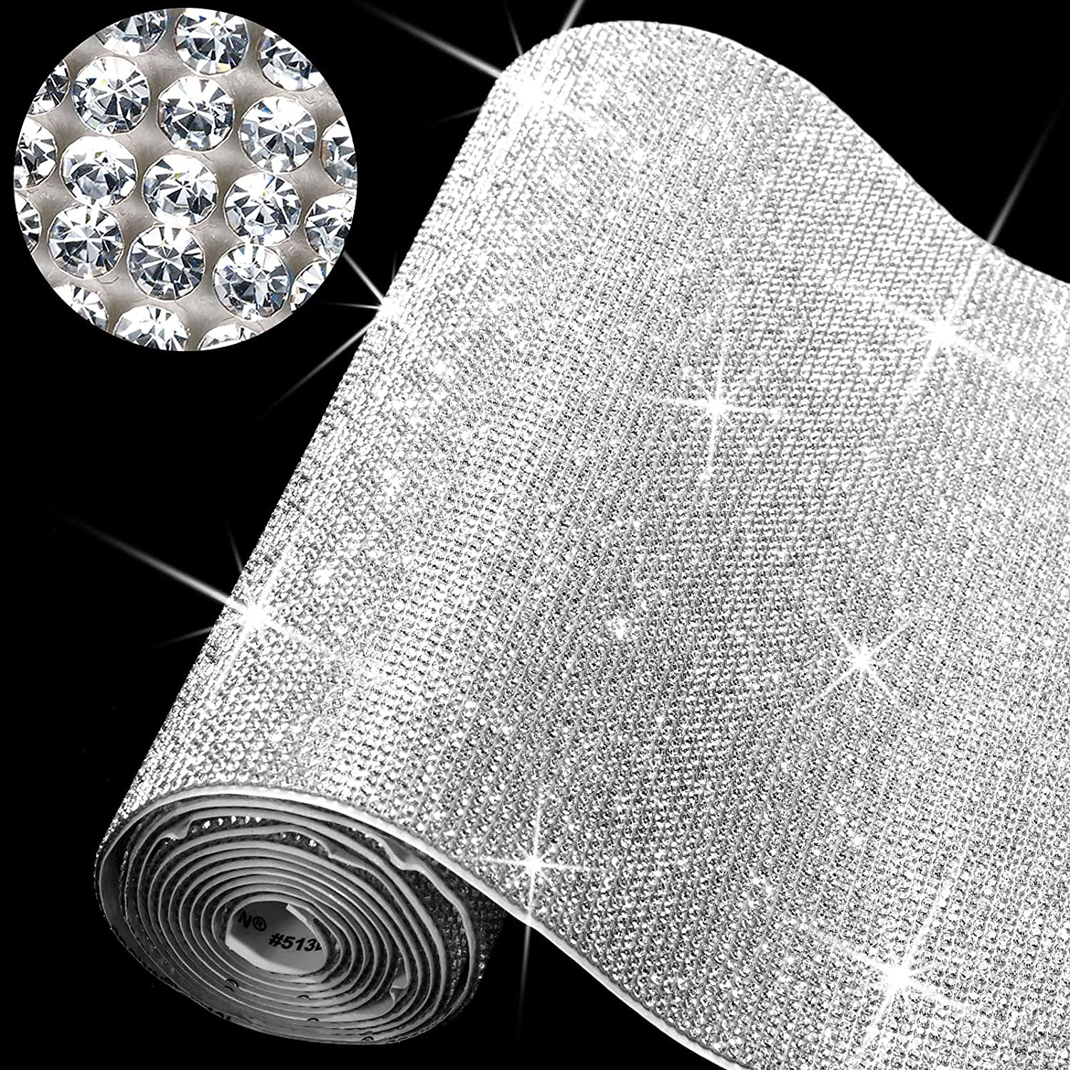 60750 Pieces Bling Rhinestone Rhines Excellence Self-Adhesive Sheet Crystal supreme