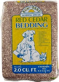 Sun Seed Company SSS18020 Aromatic Red Cedar Press Pack 3000 Small Animal Bedding, 4 Cubic Feet