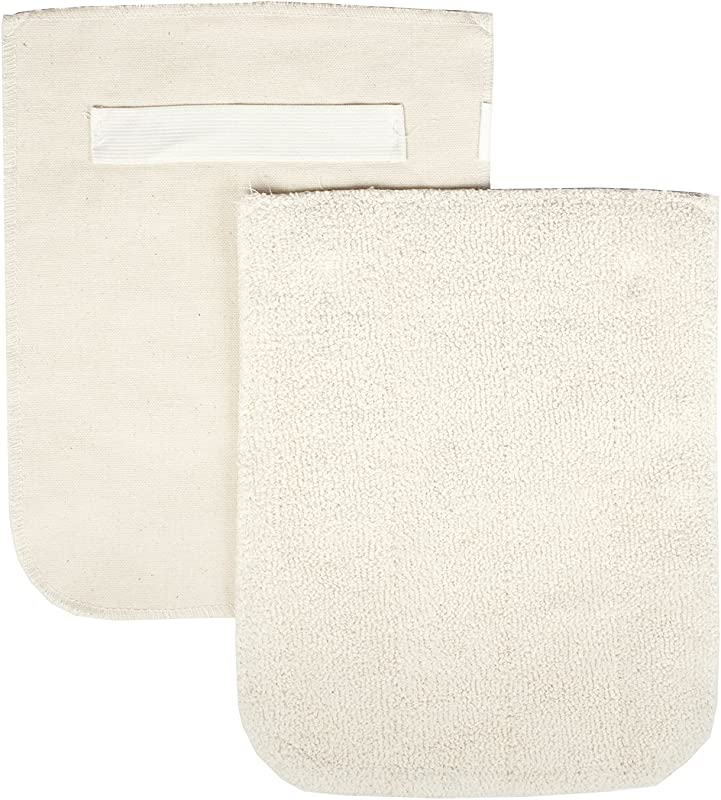 RITZ Food Service CLPG1 2E Terry Hot Pad Pot Holder With Steam Barrier 8 X 11 Set Of 2 Beige