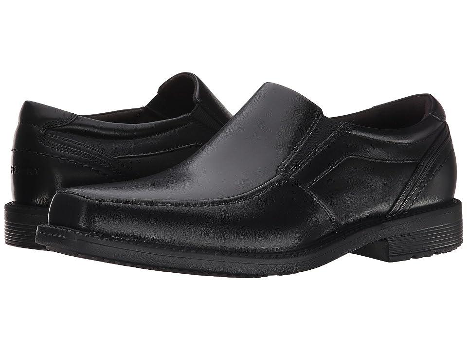 Rockport Style Leader 2 Moc Toe Slip On (Black) Men