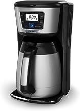 Black & Decker CM2035B 12-Cup Thermal Coffeemaker, Black/Silver