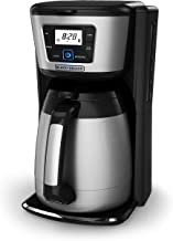 black and decker stainless steel coffee maker