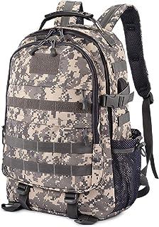 35L Mochila Táctica Militar de Asalto con USB Puerto de Carga Escolar