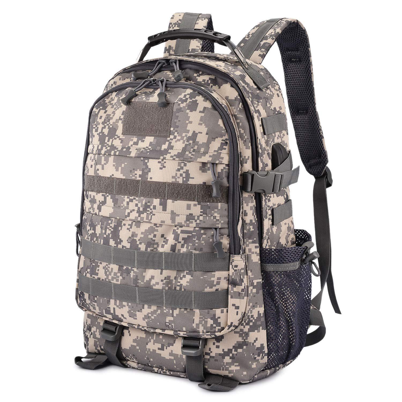 Selighting 35L Rucksack Backpack Mochila Táctica Militar Hombre Mochilas para Portátil Laptop 15,6 Pulgadas con Puerto de Carga USB para Trabajo Diario Escuela Viaje: Amazon.es: Deportes y aire libre