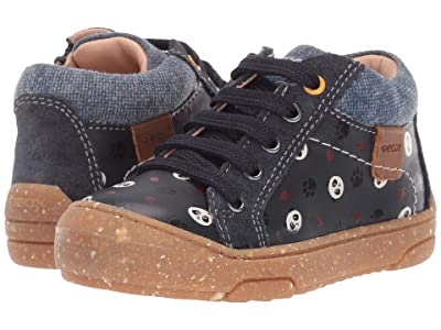 Geox Kids Geox x WWF Jay J 2 (Infant/Toddler) (Dark Blue) Boys Shoes