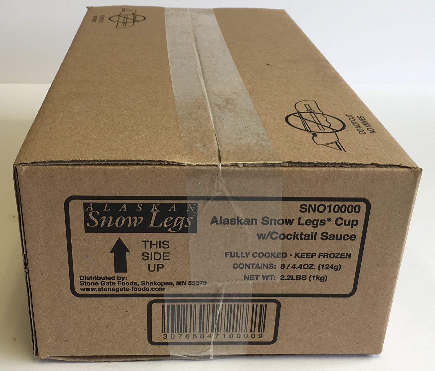 Stone Gate Max 50% OFF Foods Imitation Alaskan Snow Leg Max 53% OFF Crab 4.4 Ounce Cup