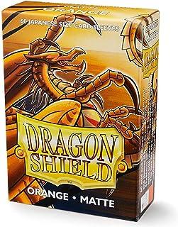 Dragon Shield Matte Mini Japanese Orange 60 ct Card Sleeves Individual Pack