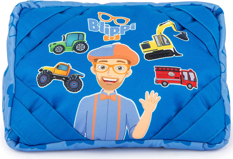 Jay Franco Blippi Trucks Small Year-end annual account iPad - Soft Tablet Cheap SALE Start Pillow Holder