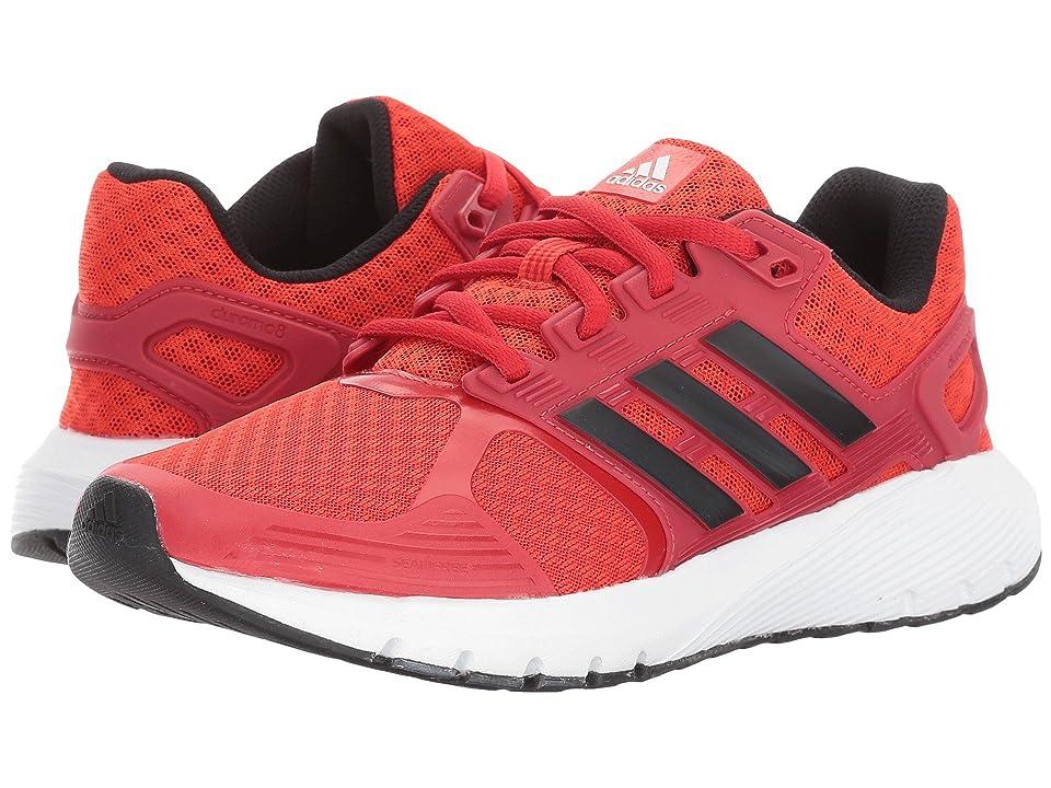 adidas Kids Duramo 8 K (Little Kid/Big Kid) (Core Red/Core Black/Footwear White) Boys Shoes