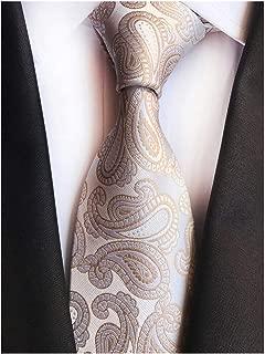 Mens Classic Checks Striped Paisley Slim Ties Formal Business Designer Neckties