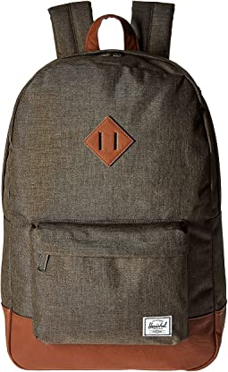 Canteen Crosshatch/Tan Synthetic Leather