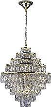 Startec 140140018, Lustre Florença Belle G9, 45 cm, 360 W, Cristais/Dourado Bivolt